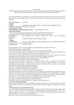 Artvin İli Hopa Engereği(Vipera Kaznakovi) Tür Eylem Planı