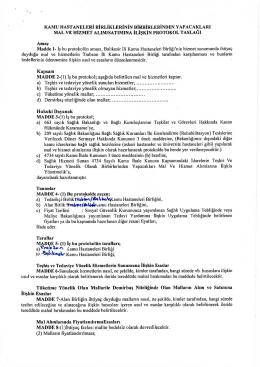 Trabzon İli Kamu Hastaneleri Birliği
