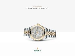 Rolex Datejust Lady 31 Saati : Sarı Rolesor