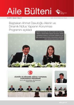 Şubat 2015 - Aile ve Sosyal Politikalar Bakanlığı