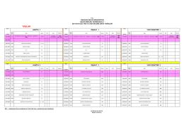 2014-2015 I. Dönem Bütünleme Sınav Programı için tıklayınız