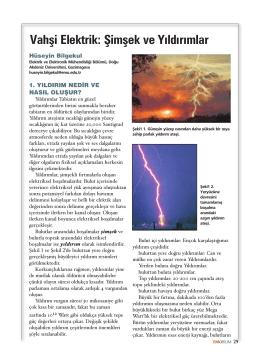 Vahşi Elektrik: Şimşek ve Yıldırımlar