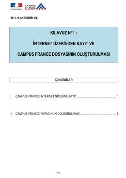 KILAVUZ 1_KAYIT ve CF DOSYASININ OLUSTURULMASI 2014