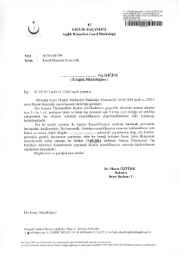 ŝ2 0 1 4 M ay 1 s R esertifikasyon S 1 nav 1 Y erle _ tirme D uyurusu