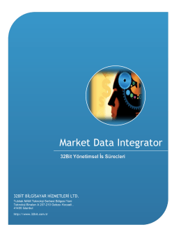 Market Data Integrator Market Data Integrator