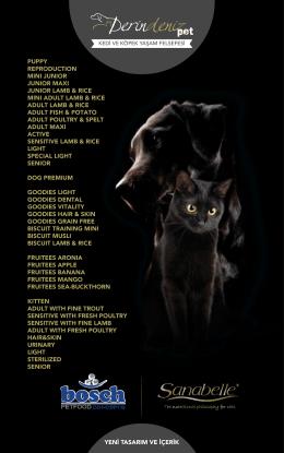 PDF Katalog - Derindeniz Pet
