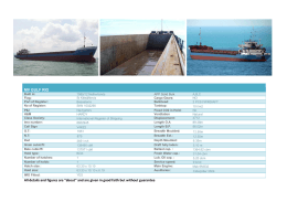 MV GULF RIO All details and figures are