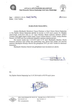 Gündemin 87.Maddesi - Antalya Belediyesi