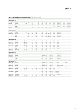 Tüm şasi teknik özelliklerini PDF olarak indirin 979 KB