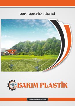 pdf download - Bakım Plastik