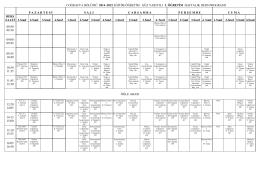 2014 - 2015 Güz Yarıyılı Ders Programı