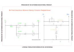 R Mp Bir Fazlı Asenkron Motorun Dönüş Yönünün Değiştirilmesi