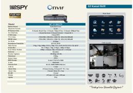 32 Kanal NVR - Han Elektronik