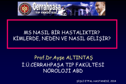 Prof. Dr. Ayşe ALTINTAŞ