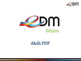 edm akıllı pdf sunumu