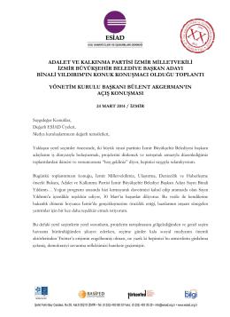 YEREL SEÇİMLER ÖNCESİ BİNALİ YILDIRIM İLE TOPLANTI