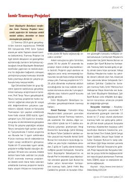 İzmir Tramvay Projeleri