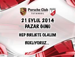 13:00 - 16:00 - Porsche Club CMS