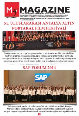 51. ULUSLARARASI ANTALYA ALTIN PORTAKAL FİLM
