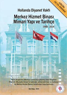 HDV Merkez Bina Tarihçe - Hollanda Diyanet Vakfı