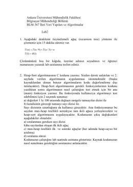 Ankara Üniversitesi Mühendislik Fakültesi Bilgisayar Mühendisliği