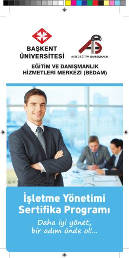 İşletme Yönetimi Sertifika Programı