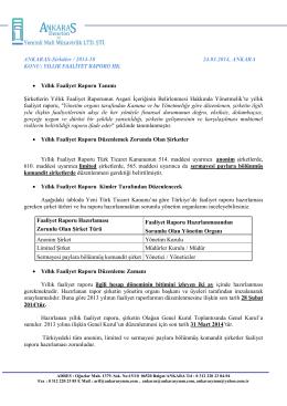 Sirküler 2014-9-Faaliyet Raporları HK