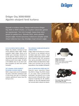Dräger Oxy 3000/6000 (PDF)