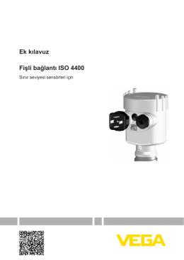 Fişli bağlantı ISO 4400 - Sınır seviyesi sensörleri için