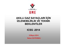 hakan kaykısızlı - ICSG ISTANBUL 2014