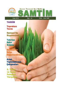 Samtim 44 - Samsun İl Gıda Tarım ve Hayvancılık Müdürlüğü