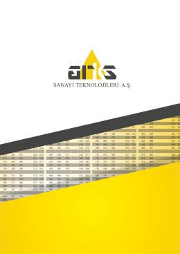 Arks Katalog - Arks Teknoloji