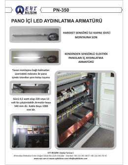 PN-350 PANO İÇİ LED AYDINLATMA ARMATÜRÜ