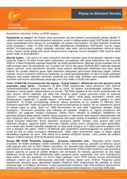 Eczacibasi Securities - Eczacıbaşı Menkul Değerler A.Ş.