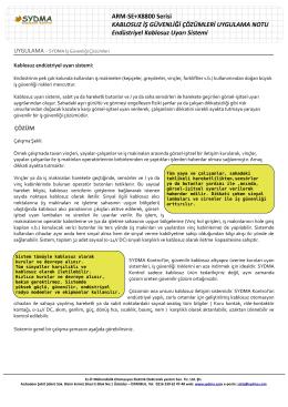 ARM-SE+X8800 Serisi KABLOSUZ İŞ GÜVENLİĞİ
