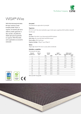 WISA®-Wire - Wisa Plywood