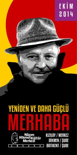 EKİM 2014 - Nazım Hikmet Kültür Merkezi