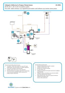 Solimpeks Solitherma Isı Pompası Montaj Şeması (SI-1002) (RJ-08