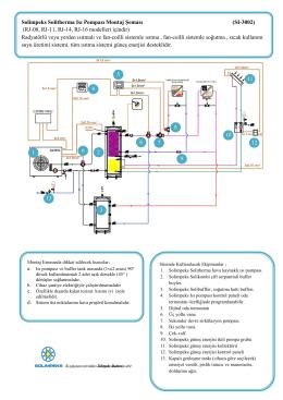 Solimpeks Solitherma Isı Pompası Montaj Şeması (SI-3002) (RJ-08
