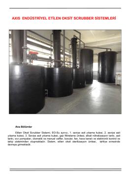 axıs endüstriyel etilen oksit scrubber sistemleri