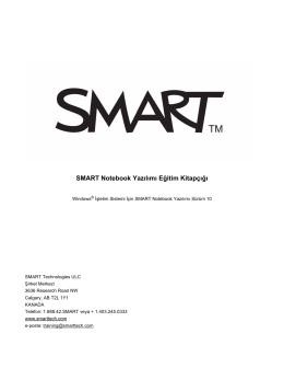 Eğitim Kitapçığı SMART Board İnteraktif Beyaz Tahta için Temel