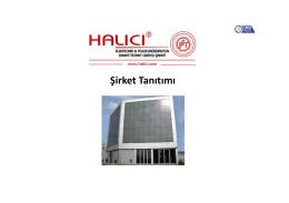 Şirket Tanıtımı - Halıcı Elektronik Ltd. Şti.