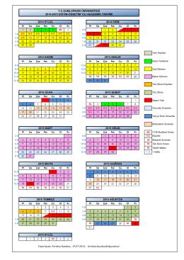 2014-2015 Eğitim