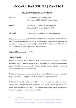 Sayı: 11-117 - Ankara Barosu