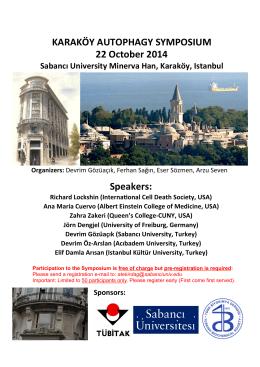 Autophagy Symposium Poster