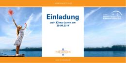 Einladung - Landeshauptstadt Wiesbaden
