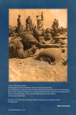 Kore Savaşı - Ankara Barosu