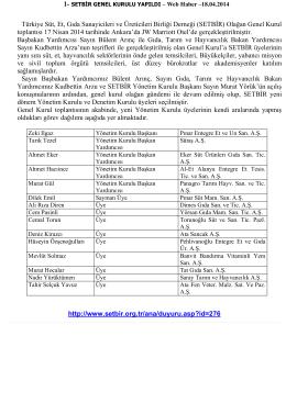 Türkiye Süt, Et, Gıda Sanayicileri ve Üreticileri Birliği Derneği