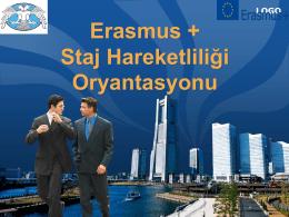 AB Eğitim ve Gençlik Programları Erasmus Yerleştirme Hareketliliği
