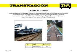 TWA 850 RV (Laadkks)